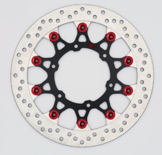 バイク用品 ブレーキ クラッチSUNSTAR BRAKE サンスター プレミアムR ホール GSX-S1000(φ310)ピン:レッドLL239F-RD 4589719013496取寄品 セール