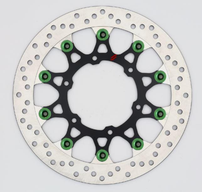 バイク用品 ブレーキ クラッチSUNSTAR BRAKE サンスター プレミアムR ホール GSX-S1000(φ310)ピン:グリーンLL239W-GR 4589719035429取寄品 セール