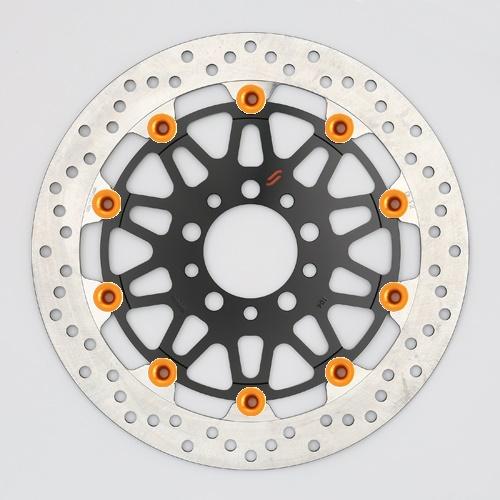 バイク用品 ブレーキ クラッチSUNSTAR BRAKE サンスター プレミアムR ホール GSX1300R(-07) ピン:オレンジLM124F-OR 4589719051375取寄品 セール
