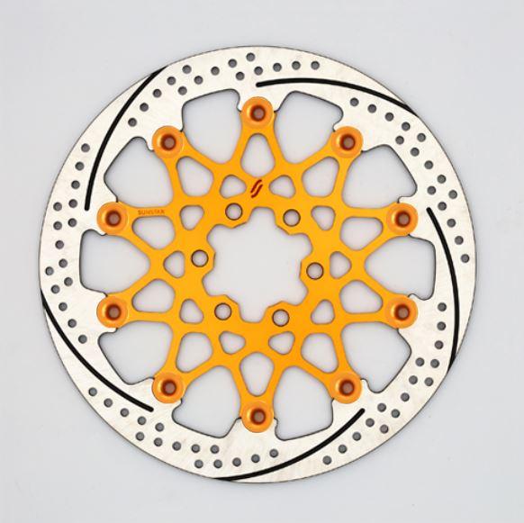 バイク用品 ブレーキ クラッチSUNSTAR BRAKE サンスター プレミアムR 390DUKE φ300 ピン:オレンジEL304ORFL-OR 4589719057841取寄品 セール