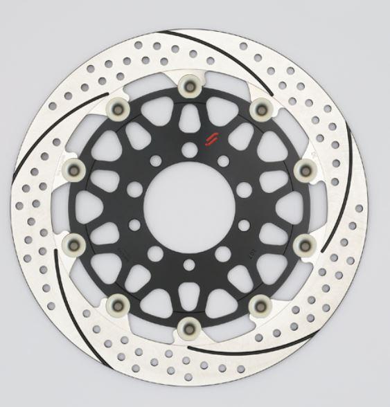 バイク用品 ブレーキ クラッチSUNSTAR BRAKE サンスター プレミアムR スリット&ホール L φ310 GSX1100S ピン:ハードアルマイトEM213WL-HA 4589719067734取寄品 セール