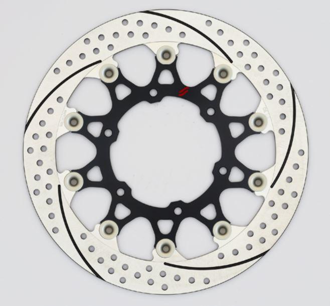 バイク用品 ブレーキ クラッチSUNSTAR BRAKE サンスター プレミアムR スリット&ホール L GSX-S1000(φ310)ピン:ハードアルマイトEL219FL-HA 4589719068199取寄品 セール