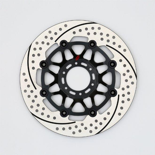 バイク用品 ブレーキ クラッチSUNSTAR BRAKE サンスター プレミアムR スリット&ホール R φ276 NSR250EM503WR 4580309443501取寄品 セール