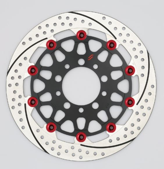 バイク用品 ブレーキ クラッチSUNSTAR BRAKE サンスター プレミアムR 5.5mm 右 YZF-R1M φ320 ピン:レッドEM127FR-RD 4589719008249取寄品 セール