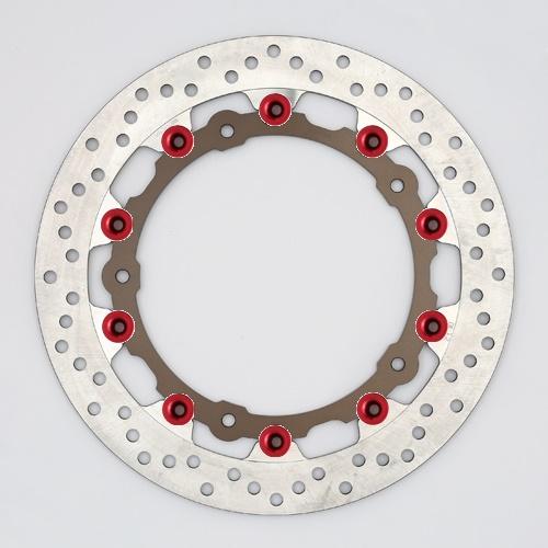 バイク用品 ブレーキ クラッチSUNSTAR BRAKE サンスター プレミアムR ホール S1000RR(φ320)ピン:レッドLL113AW-RD 4589719009888取寄品 セール