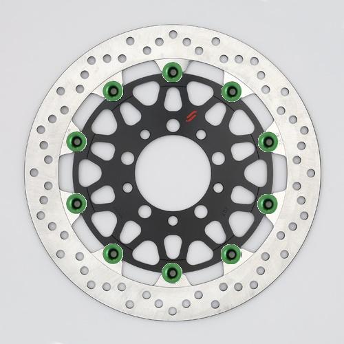 バイク用品 ブレーキ クラッチSUNSTAR BRAKE サンスター プレミアムRホール φ310 ZRX1200DAEG ピン:グリーンLM207W-GR 4589719033807取寄品 セール