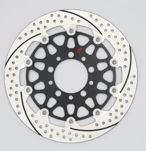 バイク用品 ブレーキ クラッチSUNSTAR BRAKE サンスター プレミアムR 5.0mm 右 φ320 ZZR1100DEM101FR-SV 4589719039281取寄品 セール