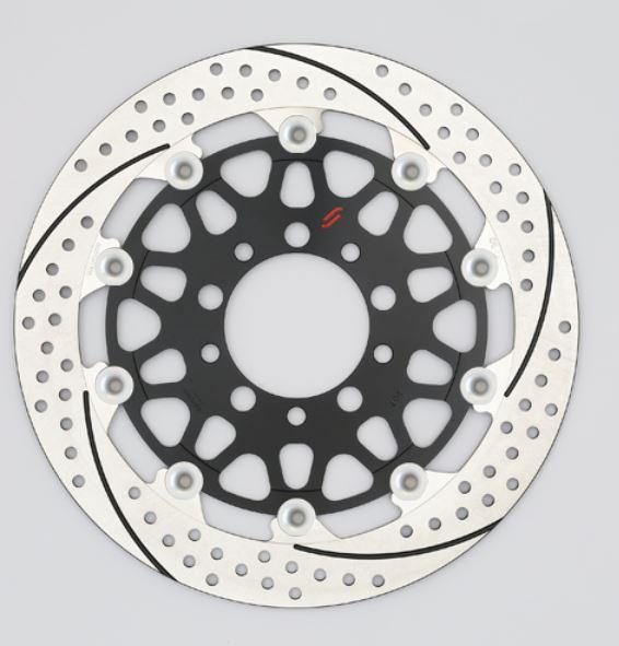 バイク用品 ブレーキ クラッチSUNSTAR BRAKE サンスター プレミアムR 5.5mm 右 φ320 VTR1000SP-1EM128WR-SV 4589719041444取寄品 セール
