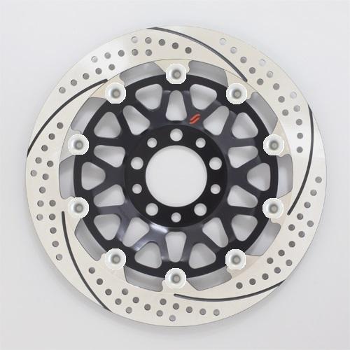 バイク用品 ブレーキ クラッチSUNSTAR BRAKE サンスター プレミアムR GSX-R1100(89-)φ310 ピン:シルバーEM224FR-SV 4589719043929取寄品 セール