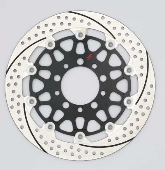 バイク用品 ブレーキ クラッチSUNSTAR BRAKE サンスター プレミアムR 5.0mm 左 GPZ900R φ300EM301FL-SV 4589719046418取寄品 セール