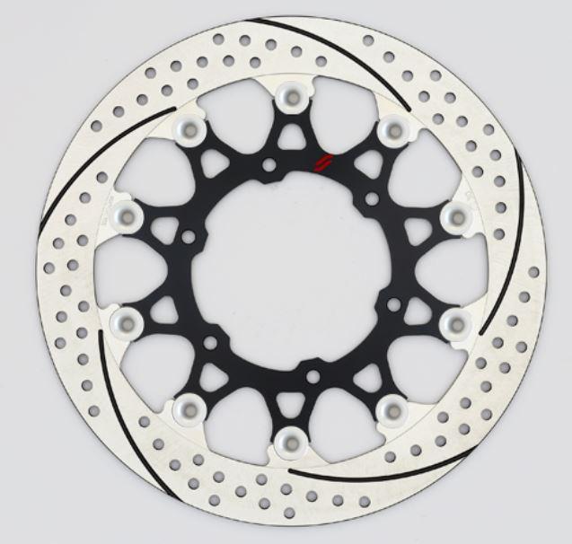 バイク用品 ブレーキ クラッチSUNSTAR BRAKE サンスター プレミアムR スリット&ホール R R1200GS(水冷)φ305ピン:シルバーEL702WR-SV 4589719047675取寄品 セール