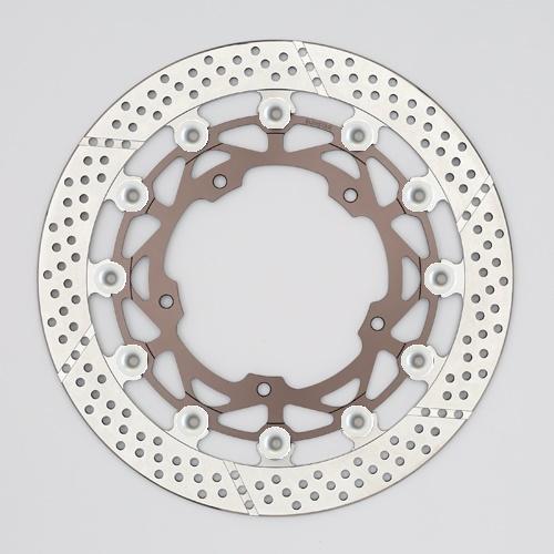バイク用品 ブレーキ クラッチSUNSTAR BRAKE サンスター ワークスエキスパンド 左φ320 6.0 YZF-R1M(15-) ピン:シルバーWT147WL-SV 4589719048764取寄品 セール