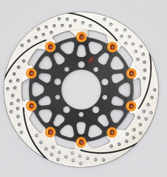 バイク用品 ブレーキ クラッチSUNSTAR BRAKE サンスター プレミアムR 5.5mm 右 φ320 GSX1100S KATANAEM125WR-OR 4589719051504取寄品 セール
