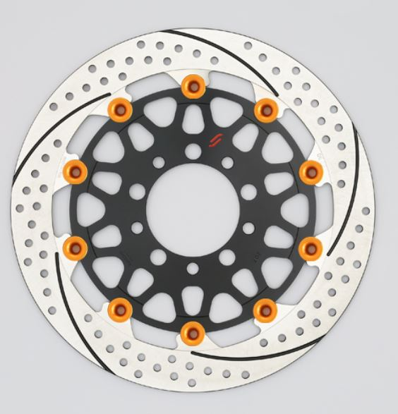 バイク用品 ブレーキ クラッチSUNSTAR BRAKE サンスター プレミアムR 5.5mm 左 φ320 VTR1000SP-1EM128WL-OR 4589719052396取寄品 セール