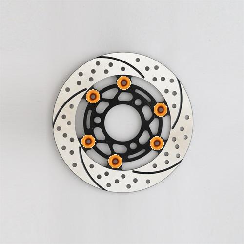 バイク用品 ブレーキ クラッチSUNSTAR BRAKE サンスター プレミアムレーシングφ220 NSF100ピン:オレンジET801WR-OR 4589719058657取寄品 セール