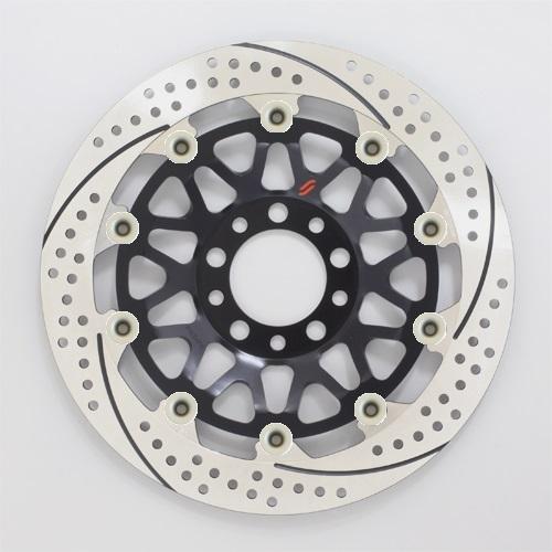 バイク用品 ブレーキ クラッチSUNSTAR BRAKE サンスター プレミアムR GSX-R1100(89-)φ310 ピン:ハードアルマイトEM224FL-HA 4589719065839取寄品 セール
