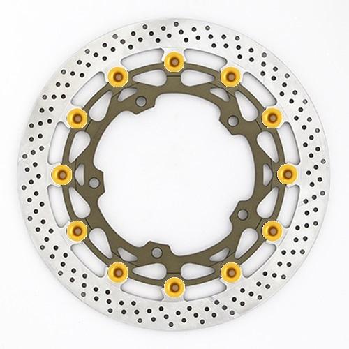 バイク用品 ブレーキ クラッチSUNSTAR BRAKE サンスター ワークスex L H2 (φ330)ピン:ゴールドWT024WL-GD 4589719004524取寄品 セール