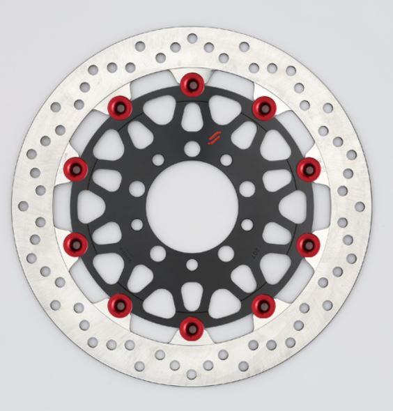 バイク用品 ブレーキ クラッチSUNSTAR BRAKE サンスター プレミアムR 5.0mm フルフローティング ZRX1100LM201F-RD 4589719010433取寄品 セール