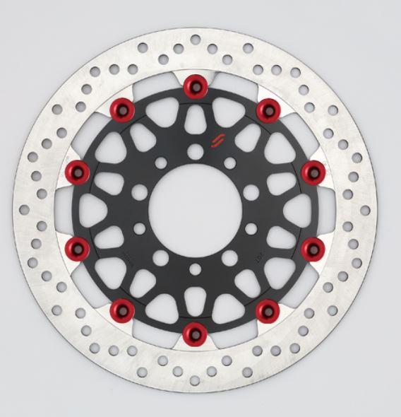 バイク用品 ブレーキ クラッチSUNSTAR BRAKE サンスター プレミアムR φ310 GSF1200 S ピン:レッドLM223W-RD 4589719010945取寄品 セール