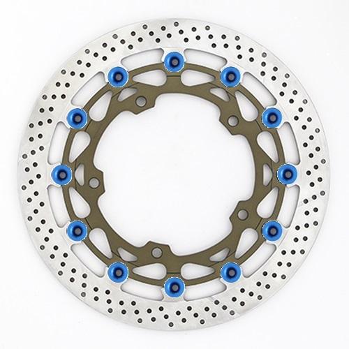 バイク用品 ブレーキ クラッチSUNSTAR BRAKE サンスター ワークスex L H2 (φ330)ピン:ブルーWT024WL-BL 4589719026441取寄品 セール