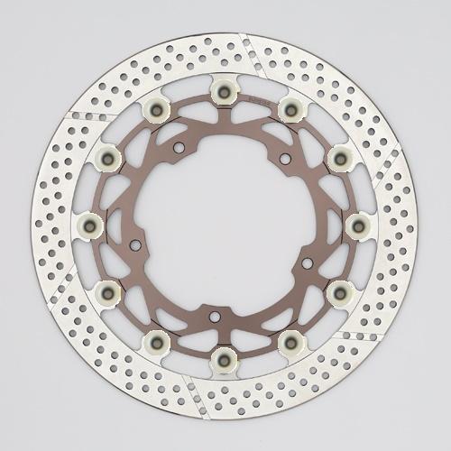 バイク用品 ブレーキ クラッチSUNSTAR BRAKE サンスター ワークスエキスパンド 右φ320 ZRX1200DAEG ピン:ハードアルマイトWT130FR-HA 4589719070796取寄品 セール