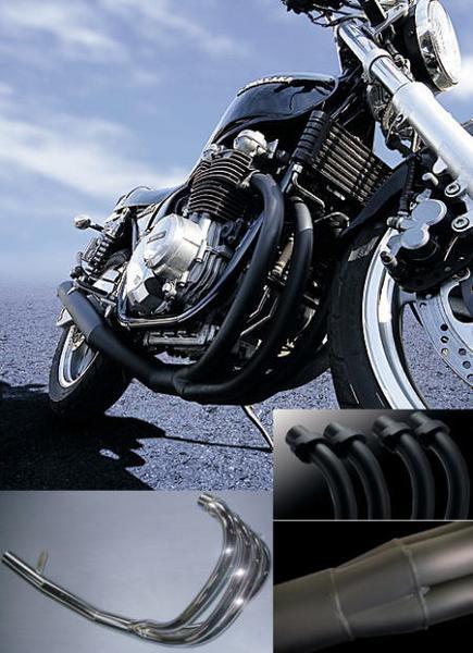 代引不可/ヤマト便/送料無料/M-TEC/エムテック/マフラー/バイク用/NEWショート管 ブラック ZEPHYR ゼファー750/RS MRS-MUK75-01B【送料無料】