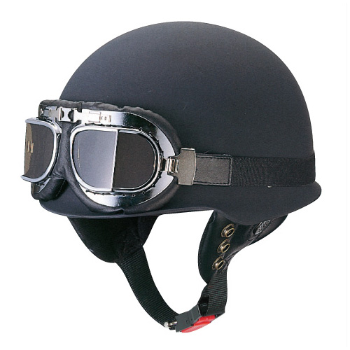 【MARUSHIN】【マルシン工業】ゴーグル付きビンテージヘルメット【CL-275】