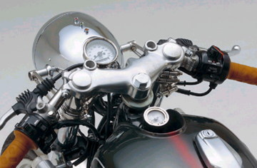 【DAYTONA】【デイトナ】【バイク用】ビンテージトップリッジ 95-02 SR400/500【48219】