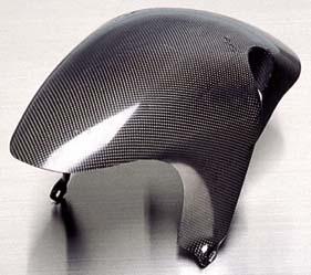【COERCE】【コワース】【バイク用】フロントフェンダー カーボンモデルモデル ノーマルタイプ グース GOOSE350【0-42-cfcw3201】