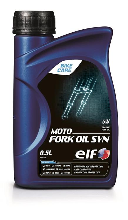エルフオイル 春の新作続々 100%化学合成サスペンションオイル 取寄品 エルフ 人気ブランド多数対象 ELF サスペンションオイル MOTO SYN OIL フルシンセティック 0.5L FORK 5W