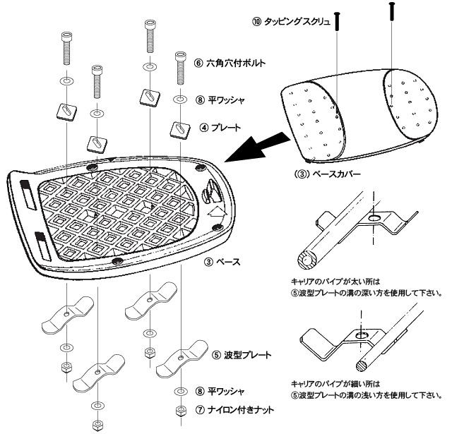 KAPPA(カッパ)リアボックストップケースブラック39L【K39N】ビジネスバッグも入れやすい四角タイプGIVIE20N68023と同等品
