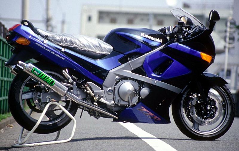 【RPM】【アールピーエム】 KAWASAKI ZZ-R400 90-92用 RPM DUAL HC/アルミ【JMCA】【1040】 フルエキゾーストマフラー
