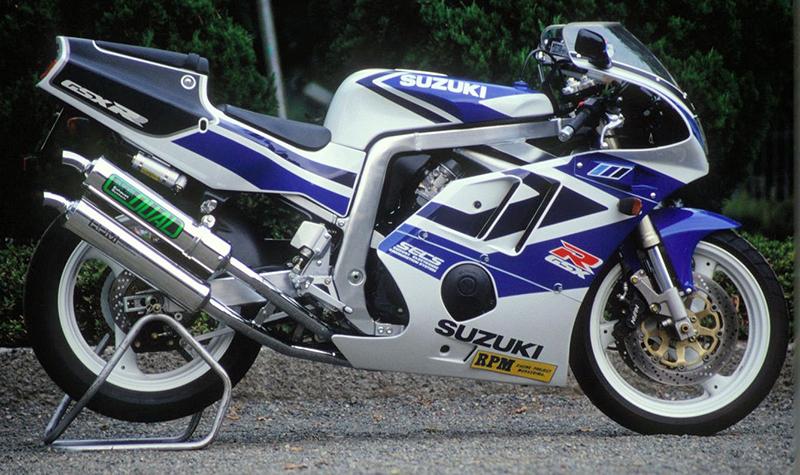 【RPM】【アールピーエム】 SUZUKI GSXR400R 90-95/GK76A用 RPM DUAL HC/アルミ【4009】 フルエキゾーストマフラー