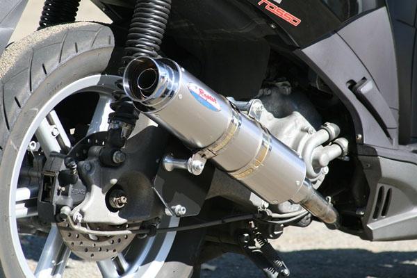 【RPM】【アールピーエム】 SYM Fighter150 HV15V用 80D-RAPTOR Titan SUS/Titan【JMCA】【6011y】 フルエキゾーストマフラー
