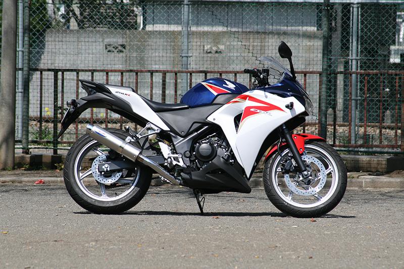 【RPM】【アールピーエム】 HONDA CBR250R JBK-MC41用 80D-RAPTOR Titan SUS/Titan【政府認証】【6507y】 フルエキゾーストマフラー