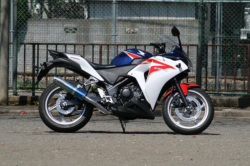 【RPM】【アールピーエム】 HONDA CBR250R JBK-MC41用 80D-RAPTOR Titan SUS/BlueTitan【政府認証】【6507z】 フルエキゾーストマフラー