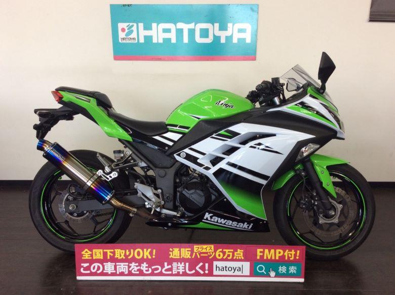 【諸費用コミコミ価格】値下げしました ▼ 中古 カワサキ ニンジャ250スペシャルエディション KAWASAKI Ninja250SE【2943u-kabe】