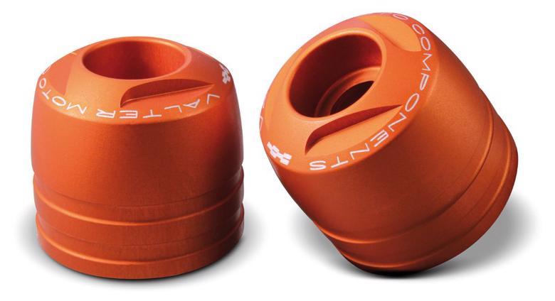 バイク用品 ハンドルVALTER MOTO COMPONENTS バルターモト.C バーエンドTOURING オレンジ DUCATI APRILIAVMC-TM02-TMA10 4548916473618取寄品 セール