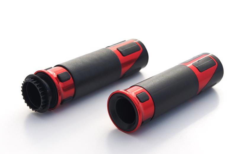 バイク用品 ハンドルVALTER MOTO COMPONENTS バルターモト.C グリップ TOPタイプ レッドVMC-GRP01 8054931003960取寄品 セール