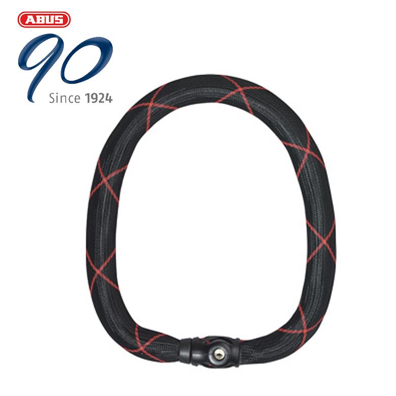 【ABUS(アブス)(アバス)】【防犯】Chain Locks スチールOチェーンアイヴィー9100【9100/170 black】