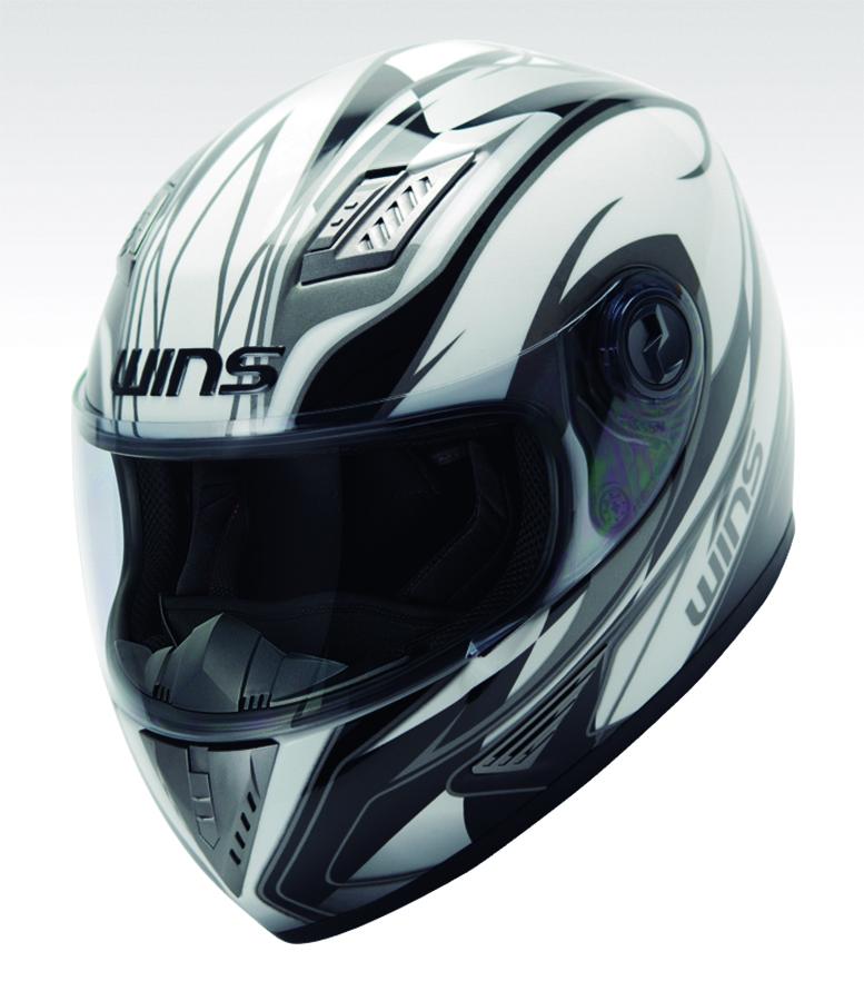 バイク用品 ヘルメット ヘルメットウインズ WINS A-FORCE GT ホワイトxシルバーライン ブラックインナー L4560385765261 4560385765261取寄品 スーパーセール
