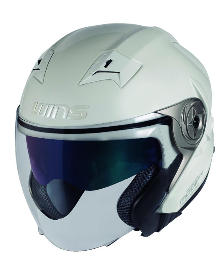 バイク用品 ヘルメット ヘルメットウインズ WINS MODIFY X パールホワイト M4560385765629 4560385765629取寄品 スーパーセール