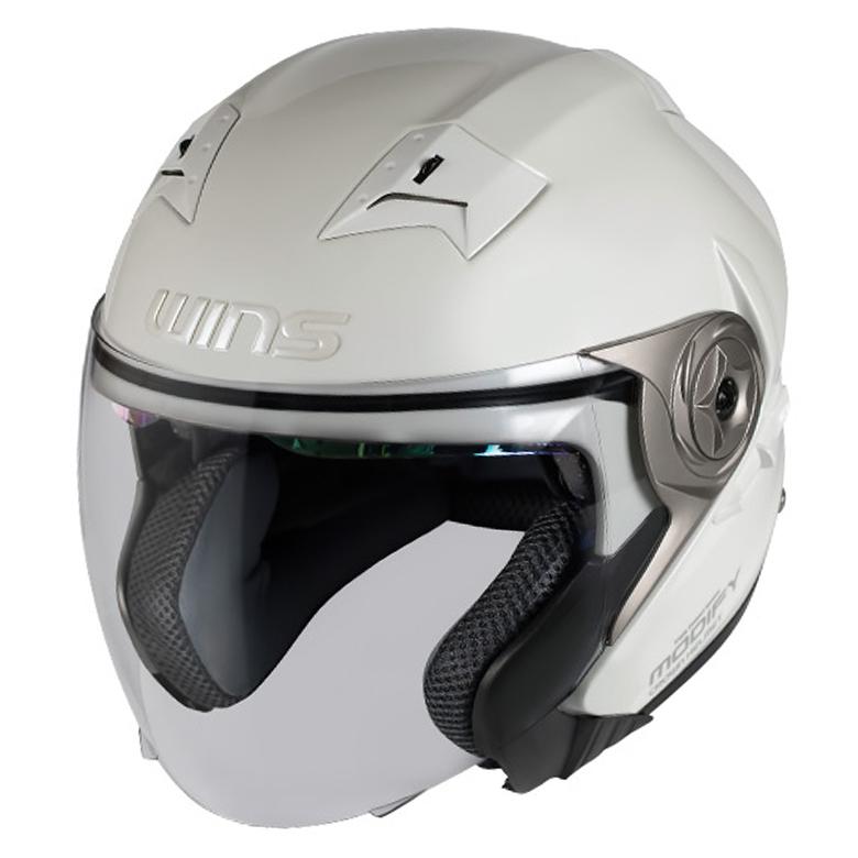 バイク用品 ヘルメット ヘルメットウインズ WINS MODIFY X JET パールホワイト L4560385765704 4560385765704取寄品 スーパーセール