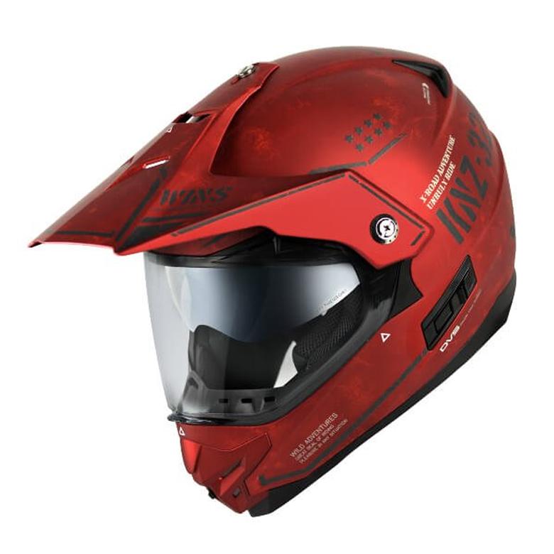 バイク用品 ヘルメット ヘルメットウインズ WINS X-ROAD Combat マットアイアンレッド M4560385768095 4560385768095取寄品