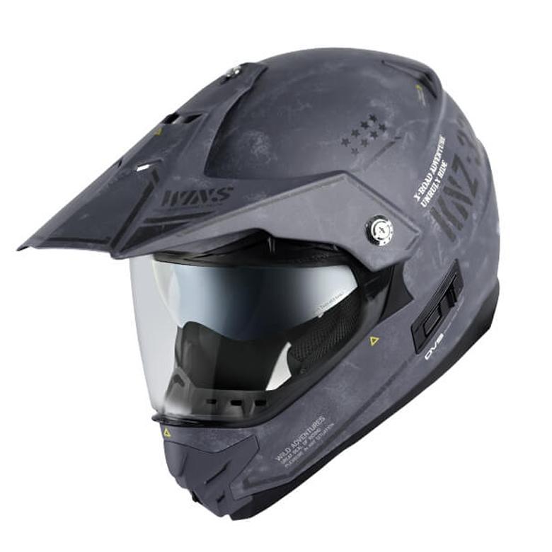 バイク用品 ヘルメット ヘルメットウインズ WINS X-ROAD Combat マットアーミーグレー M4560385768125 4560385768125取寄品