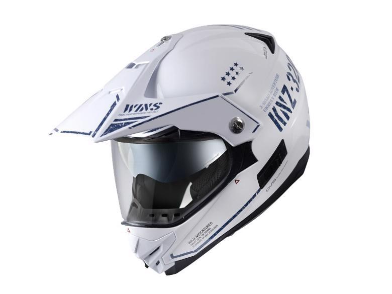 バイク用品 ヘルメット ヘルメットウインズ WINS X-ROAD Combat セラミックホワイト(ツヤ有り) L4560385768255 4560385768255取寄品