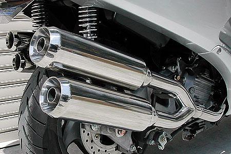 バイク用品 マフラー 4ストフルエキゾーストマフラーウイルズウィン WirusWin サイドバイサイドマフラー ジェット FORZA(MF06)212-15-04 4547424567932取寄品 スーパーセール