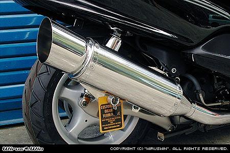 バイク用品 マフラー 4ストフルエキゾーストマフラーウイルズウィン WirusWin エクシードマフラー MAJESTY125142-09-01 4547424659804取寄品 スーパーセール