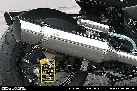 バイク用品 マフラー 4ストフルエキゾーストマフラーウイルズウィン WirusWin エクシードマフラー MAJESTY250(4D9)172-09-01 4547567450023取寄品