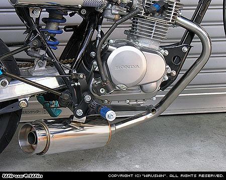 バイク用品 マフラー 4ストフルエキゾーストマフラーウイルズウィン WirusWin ドラッグバイソンマフラー バズーカー APE100 ダウンタイプ752-58-22 4547567451174取寄品 スーパーセール